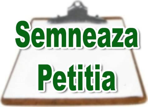 SEMNEAZA PETITIA RO-TRANS